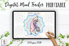 Digital Habit Trackers Y4 Yoga Series for Planner PRINTABLE Product Image 1