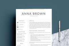 Resume Template CV Word Product Image 2