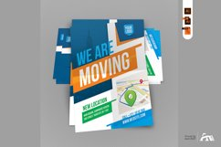 We Are Here Moving Announcement Flyer Template Product Image 4