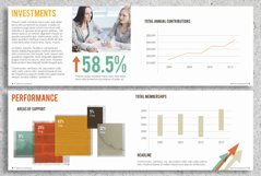 22 Page Corporate Annual Report Brochure Booklet Product Image 4