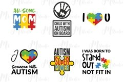 Autism Quotes svg bundle Product Image 6