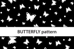 Scattered butterflies digital paper Product Image 2