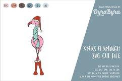 FLAMNGO CHRSTMAS SVG / CHRISTMAS SVG Product Image 1
