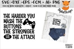 Funny Video Gamer SVG Product Image 1