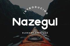 Nazegul - Sans Serif Fonts Product Image 1