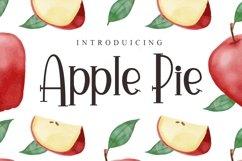 Web Font Apple Pie Product Image 1