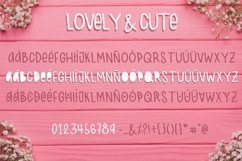 Lovely & Cute - 3 Handmade fonts! Product Image 5