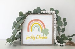 St Patricks Day Rainbow SVG Product Image 5