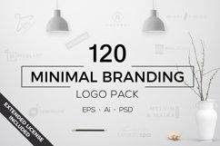 120 Minimal Branding Logo Pack Product Image 1