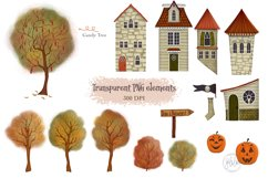 The Fun of Halloween Scene Creator Set - 112 Elements Product Image 4