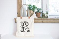 Antique Ornaments Alphabet Font Product Image 4
