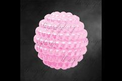 100 Pearl Pomander Digital Clip Art Jewelry Pearl Ball Image Product Image 4