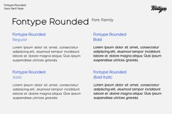 Fontype Rounded - Font Family Product Image 3