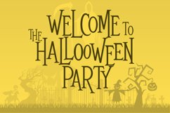 Mitoos Halloween typeface with extras Product Image 2