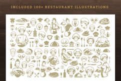 Restaurant Menu Template and Logo Product Image 5