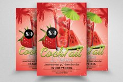 10 Summer Cocktail Party Flyers Bundle Product Image 4