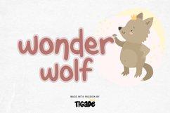 Wonderwolf - Fancy Display Font Product Image 1