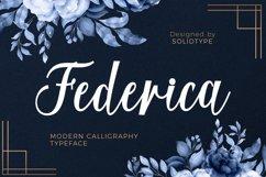 Federica Script Product Image 1