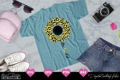 Sunflower leopard print Svg Product Image 2