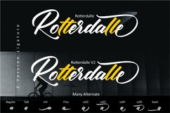 Rotterdalle Hand Lettered Script Product Image 2