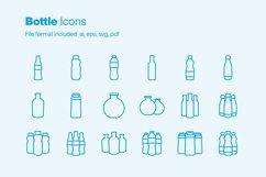 Bottle 18 Icons Product Image 1