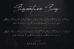 JV Signature SVG - Opentype SVG FONT Product Image 2
