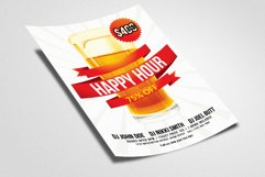 Happy Hour Flyer Template 03 Product Image 2