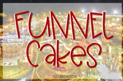 Funnel Cakes Font Product Image 1