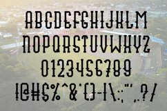 Fly Ball a Sporty Font Quad Product Image 3