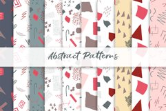 Abstract vector patterns. Big geometric collection, seamless Product Image 5