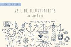 Sailor Stripes San Serif Font Product Image 4