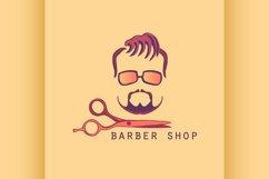 Vintage Barber Shop Label Product Image 1