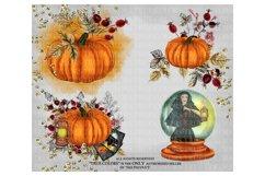 Halloween Clip art Witch Clip Art Pumpkin Clipart Product Image 4
