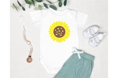Mom Quotes SVG. Baby Quotes SVG. Sunflower SVG. Baby SVG Product Image 3