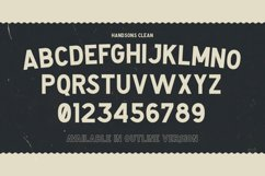 Handsons Typeface Product Image 2