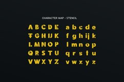 Spotlight - Sans Serif Font Family with optional Stencils Product Image 2