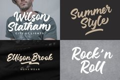 Junkies Style Bold Script Product Image 6
