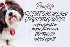 Web Font Pawfilla - Brush Font Product Image 5
