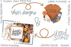 Fall Phrases - SVG and Symbols Font Product Image 2