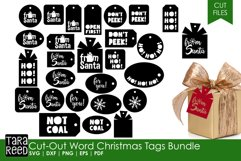 Christmas Gift Tags - Christmas SVG & Cut Files for Crafters Product Image 1