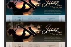 Jazz Concert Event Ticket Template Product Image 4