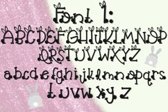 Bunny Butt Font Duo Product Image 2