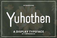 Web Font Yuhothen Product Image 1