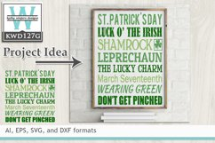 BUNDLED St. Patrick's Cutting Files KWDB021 Product Image 6