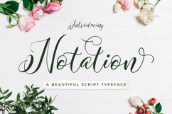 Notation + Vector Flowers Product Image 1