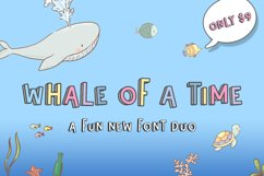Whale of a Time Font Duo Product Image 1