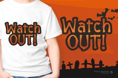 Halloween Trick or Treat - Spooky Quirky Font Product Image 6
