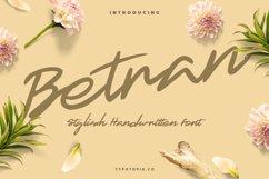 Betran Hand Drawing Font Product Image 1