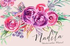 Nadila Watercolor Florals Product Image 1