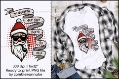 Be Naughty - Save Santa the Trip Christmas Sublimation ver.2 Product Image 1